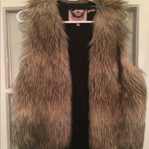 Juicy Couture Fur Vest